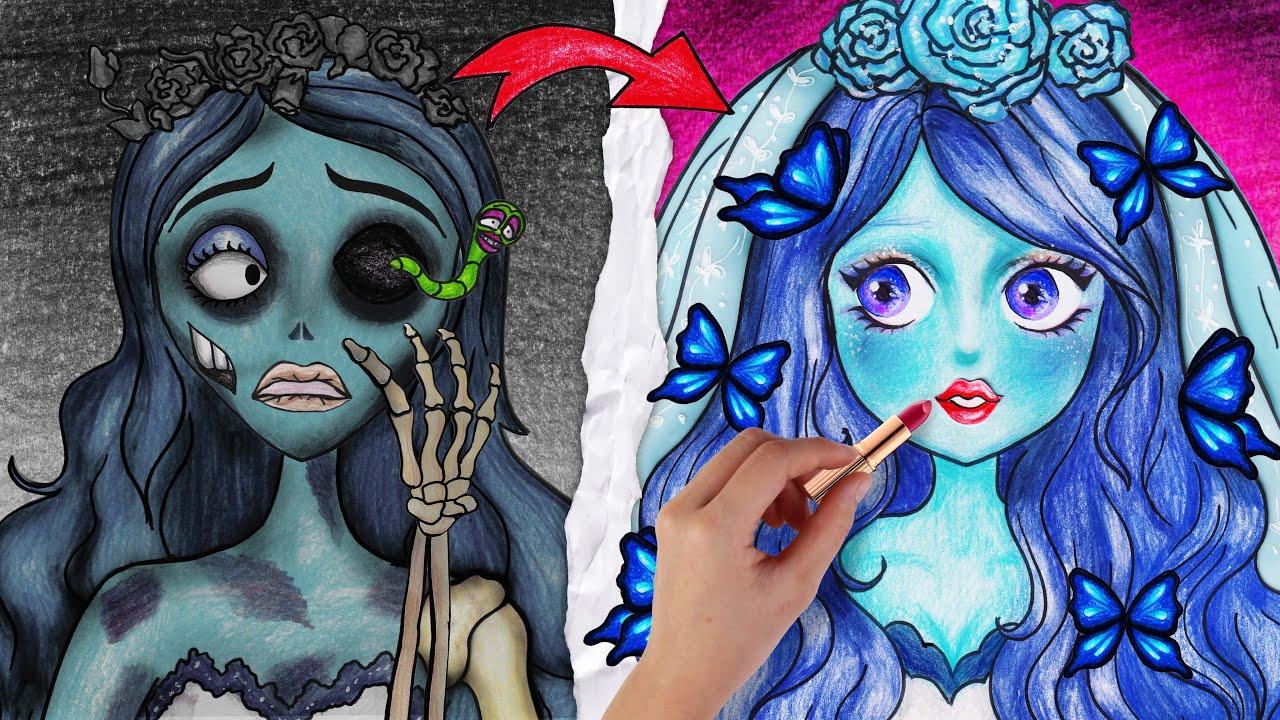 If CORPSE BRIDE were BEAUTIFUL | Plastic Surgery Animation - Seegi Channel