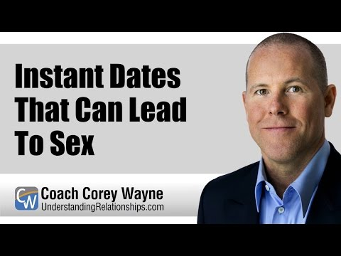 Instant Dates That Can Lead To Sex