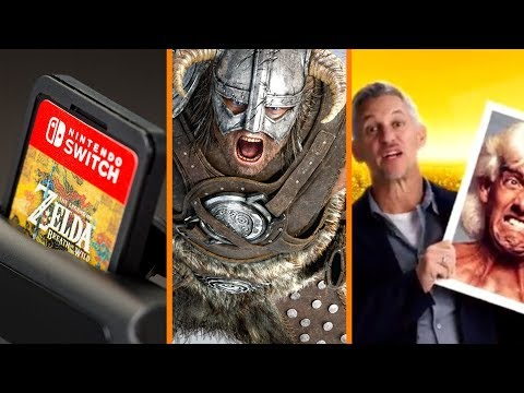 Thumbnail: Switch SAVES GameStop + Bethesda's NEW PROJECT? + Add Serial Killers to Chips! - The Know