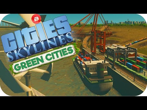 Cities: Skylines Green Cities ▶THE QUAY KEY!!!◀ Cities Skylines Green City DLC Part 34