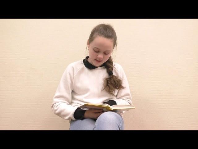 Изображение предпросмотра прочтения – УльянаЧемага читает произведение «Три товарища» В.А.Осеевой