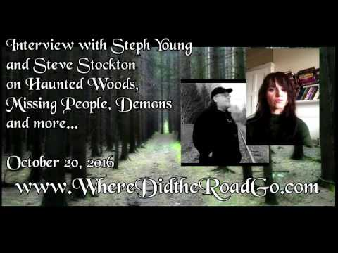 Steph Young and Steve Stockton on Haunted Woods, Missing People and more   Oct 20, 2016