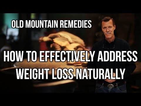 3026 - How to Effectively Address Weight Loss Naturally / Old Mountain Remedies - Walt Cross