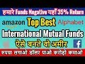 Top Best International Mutual Funds | Invest in Apple, Amazon, Microsoft,Facebook&Alphabet