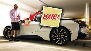 Hater VANDALIZES my BMW... *LEAVES RACIST NOTE*