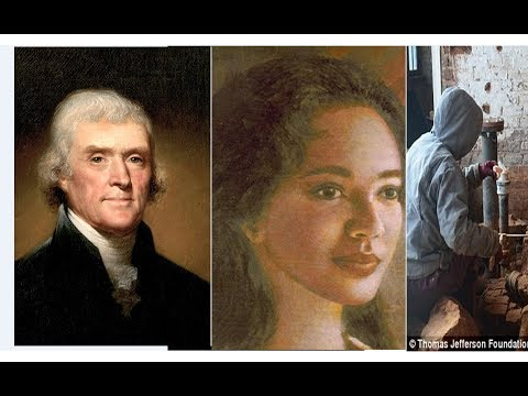 Archaeologists find Sally Hemings' room in Monticello