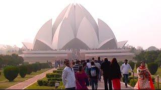 LOTUS (Bahai) TEMPLE - New Delhi  India