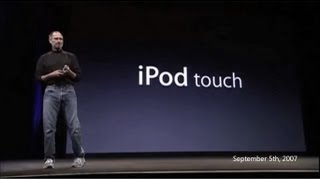 Flashback - History of iPod Touch (1st Generation to 5th Generation)