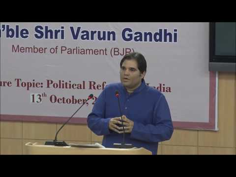 Shri Varun Gandhi | Political Reforms in India| NALSAR University of Law
