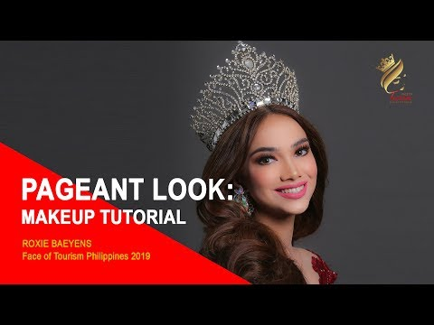 Pageant Makeup Tutorial With Roxie Baeyens