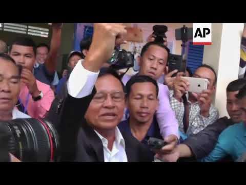 Cambodian opposition leader Kem Sokha arrested