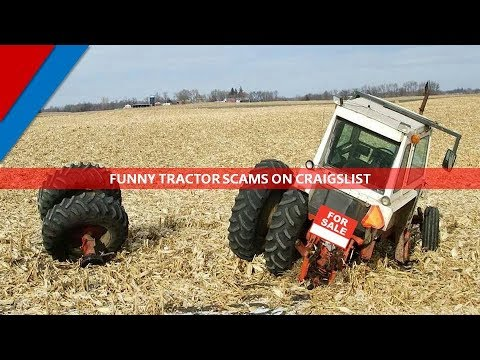 Funny Tractor Scams on Craigslist