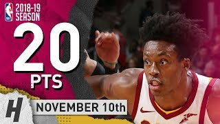 Collin Sexton Full Highlights Cavaliers vs Bulls 2018.11.10 - 20 Pts, 3 Ast, 4 Rebounds!