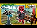 Minecraft Gravity Gun in Vanilla with only one command block