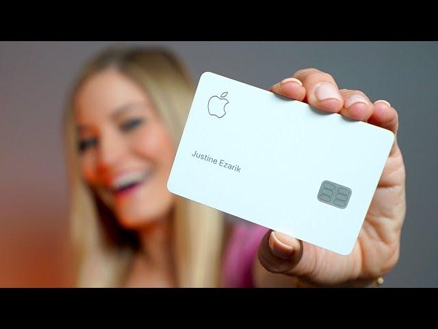 I got the Apple Card!