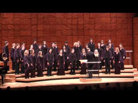 Trinity College Choir - Joshua fought the battle of Jericho (arr Rathbone) - Melbourne, Australia