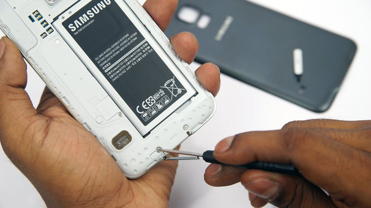 Galaxy S5 How To Replace The Micro Usb Port Flap Cover