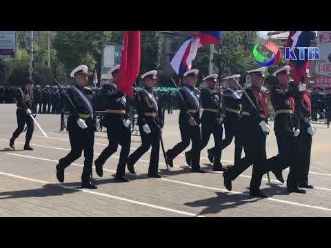 прошла вторая репетиция военного парада
