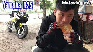 Trải nghiệm đường trường với R25 độ một số đồ chơi   Motovlog 69