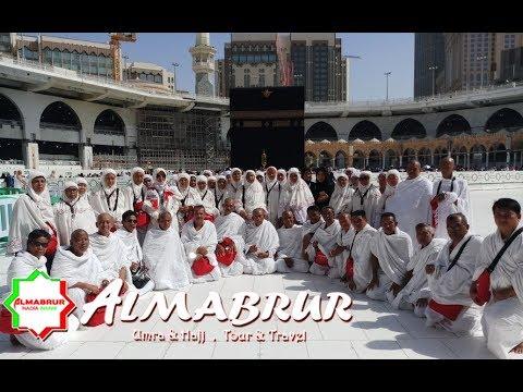 Malika travel dan KBIH Fajrul Islam Umroh saat Tawaf wada.