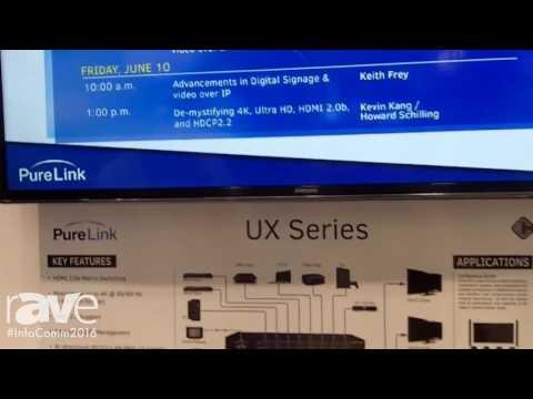 InfoComm 2016: Purelink Introduces New UX Series Matrix Switchers