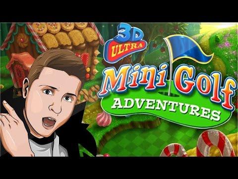 GLITCHED MINI GOLF HOLES?! (3D Ultra Mini Golf)