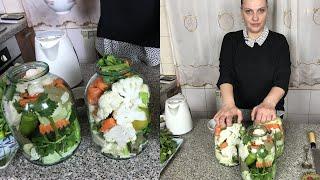Խառը թթու․ Ցույց կտամ ՝ ինչպե՞ս ճիշտ թթու դնել Овощное ассорти  Pickled Veggies  Xohanoc.am