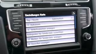 Golf 7: Navigationssystem