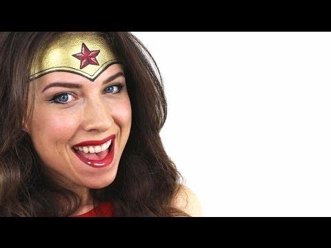 Wonder Woman Face Paint | Ashlea Henson
