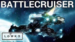 StarCraft 2: BATTLECRUISER HARASS!