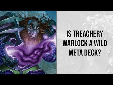 Is Treachery Warlock a Wild Meta Deck? | Rise of Shadows | Hearthstone