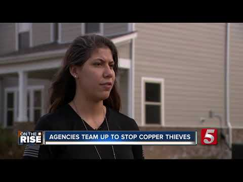 Multiple mid-state agencies team up to stop copper thieves