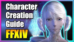 Character Creation & Job Classes [Beginner's Guide] FFXIV