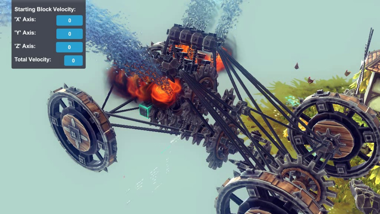 Besiege - 2 stroke V8 For Cetz