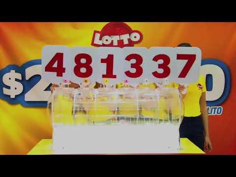 Sorteo Lotto 1848-17-AGO-17