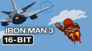 16-Bit Iron Man 3 - Movie Homage HD Video Game