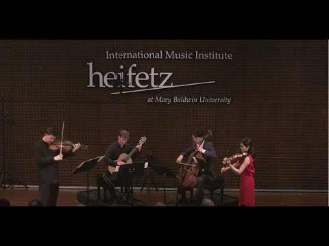 Heifetz 2017: Roberto Díaz | Paganini: Viola Quartet No. 15 in A minor