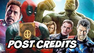 Once Upon A Deadpool Post Credit Scene - Avengers Marvel Easter Eggs Breakdown