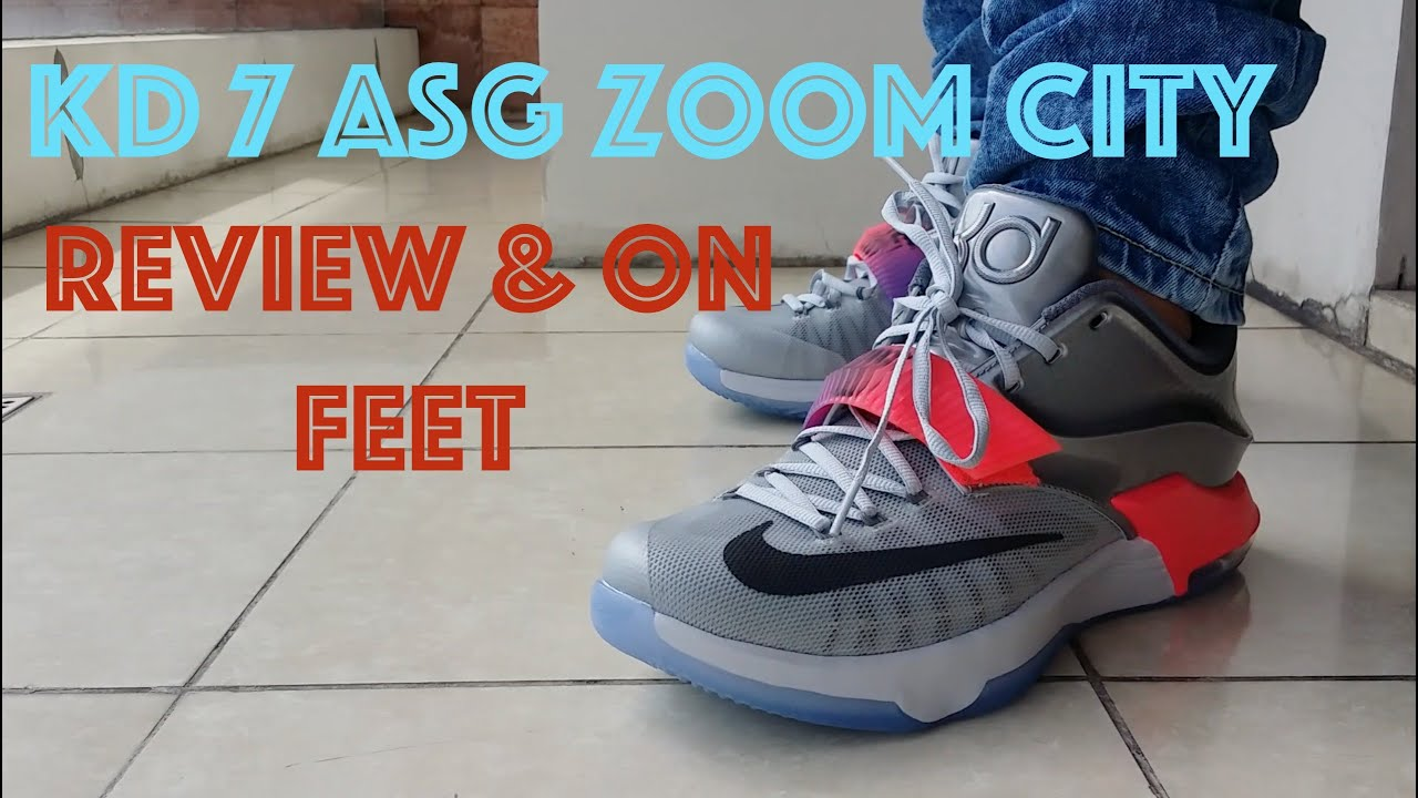 31d08c22c86 2015 KD 7 All Star Zoom City   Review   On Feet - YouTube