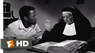 Lilies of the Field (1963) - Consider The Lilies Scene (6/12) | Movieclips