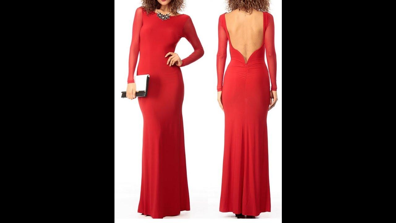 вечернее красное платье купить - YouTube
