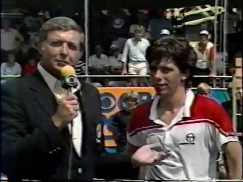 1983 U.S. Men's Clay Court Championships Final - Jimmy Arias