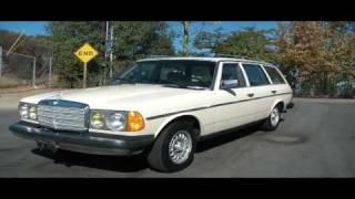 1984 Mercedes Benz 300 TD SD Turbo Diesel 300TD Wagon Bio W123 CLEAN