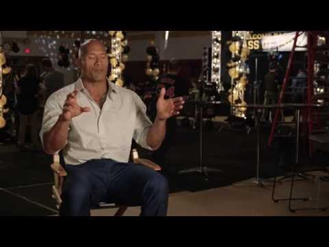 Central Intelligence - Behind the scenes interivew
