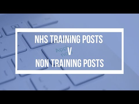 NHS Training Jobs Vs Non-Training Jobs | BDI Resourcing