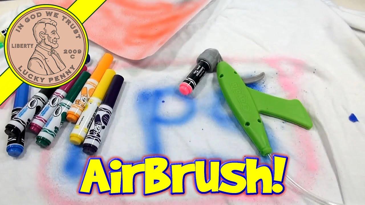Crayola Marker Airbrush Set Turn Markers Into Spray Art