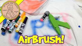 Crayola Marker Airbrush Set - Turn Markers Into Spray Art