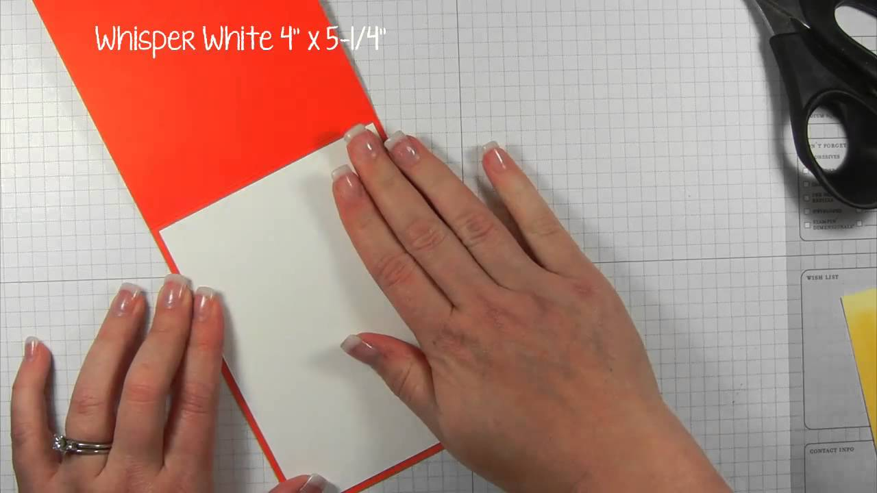 Cas hand stamped greeting card idea card in five youtube m4hsunfo