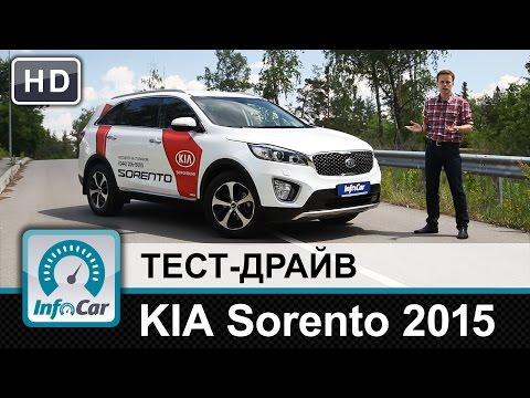KIA Sorento 2015 тест драйв от InfoCar.ua КИА Соренто