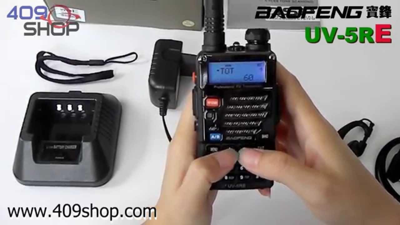 baofeng uv 5re new version dual band u v radio youtube rh youtube com Baofeng UV-5R Software Baofeng UV-5R Car Mount